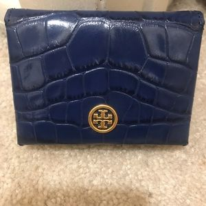 Tory Burch NAVY cars wallet